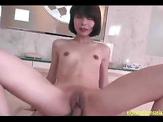 Bishou Sayaka Chan Skinny Jav Teen Makes Her First Uncensor