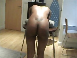 Ebony wife disciplined