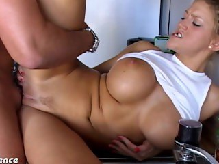 College babe Eve Laurence fucking