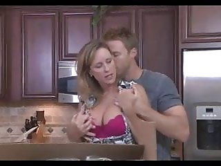 Mom Fucks Her Stepson in Her Husband's Bedroom