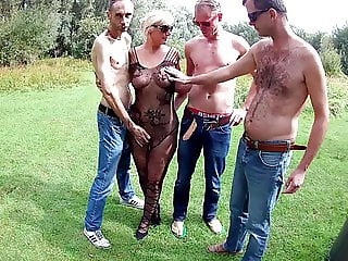 Forest Gangbang with Noire 2018 The start