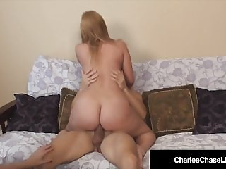 Milf Charlee Chase Tickles Young Girls Feet As Hubby Fucks!