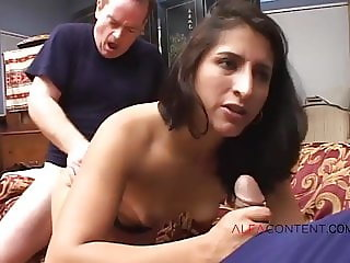 MILF in anal sex