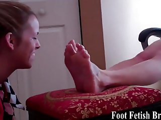 I need two girls to pamper my sexy feet