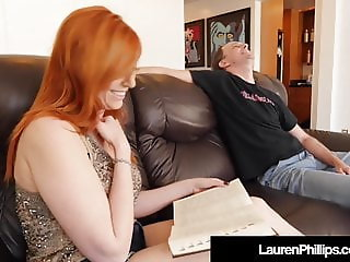 Ginger Bush Lauren Phillips Gets Pounded By Sex Coach!