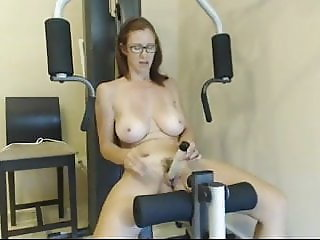 workout with dildo