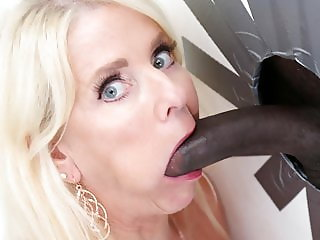 Nana Cammille Austin Loves Big Black Cock - Gloryhole