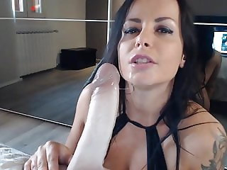 Russian Super Hot & Horny Big Dildo