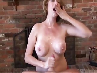 Busty cougar craving for my cumload