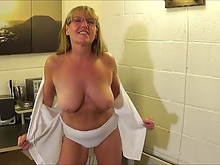 Full Back Knicker's  Police Woman Full Strip