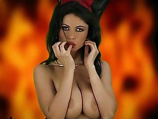 DEVIL WOMAN - big tits beauty teases