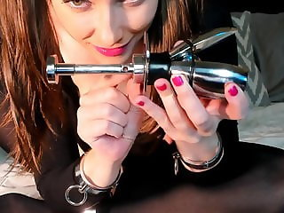 AdalynnX - Chastity Plug And Sounding Rods