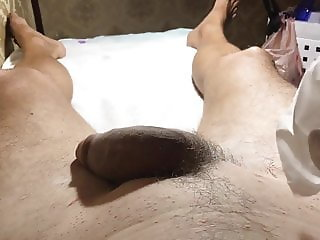 Brazilian Waxing  of a big Dick  Part 1 Start