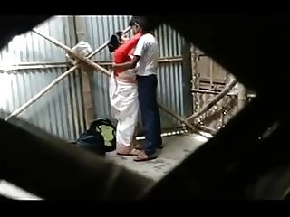Teacher and student doing sex in a abandon house