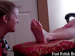 I have amazing friends who worship my feet