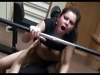 Cute Teen Fucked In Gym