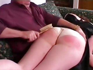natural wedgie spanking