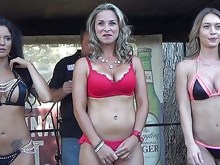 Miss Doghouse Bikini Contest - Bike Week 2018 - Daytona, FL