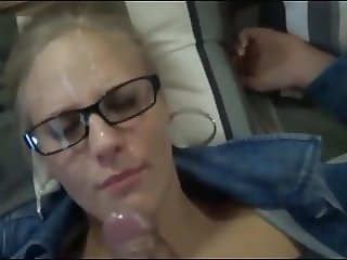sister caught her stepbrother masturbates and helpep him cum