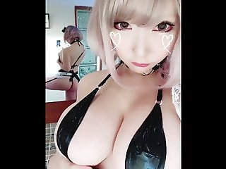 Japanese cosplayer saku