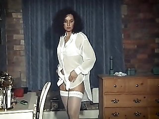 MATURE TOUCH - vintage milf strip dance tease stockings