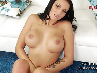 100% REAL German CAMGIRL! Filmed with 2 Kameras! really HOT!