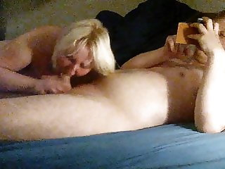 Her Husband calls us while we fuck!!