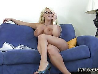 Shoot a hot load all over my wet pussy JOI