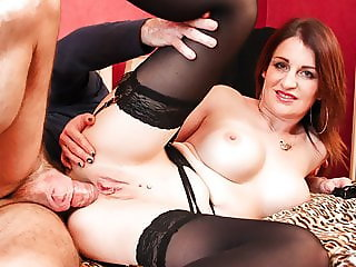 Dirty Anal Sex with Busty French MILF