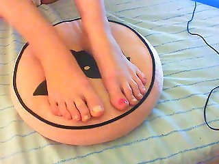Preparing my feet for you!