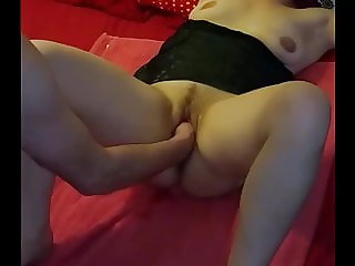 Squirt , fisting and  vibrator  ride.