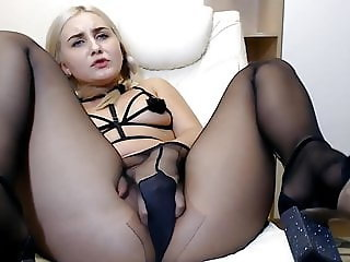webcam pantyhose relaxing