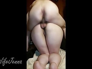Painanal For BBW Slut Wife Jenna