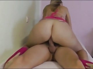 Stepsister Rides Brother's Dick and Takes Creampie