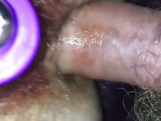Toying period pussy & fucking arse