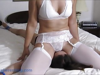 Bedroom Seductress - Tied Facesitting Humiliation
