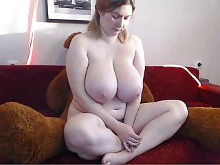 Amazing Blonde Russian women with a huge tits