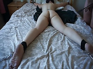 MATURE FAT ARSE SPANKED