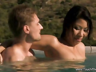 Erotic Nuru Massage MILF Outside