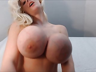 Kristi Silicone under boobs Monster Fake Tits