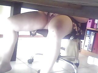 Spy wife smooth pussy play