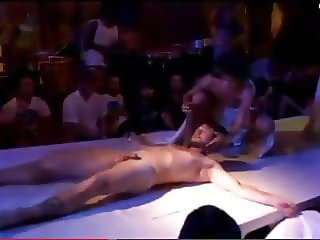 Nude Art Performance - Cutting Off Penis