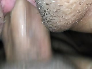 Fucking her and a great close up view