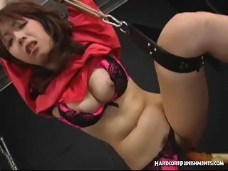 Compilation Of Captivating Intense BDSM Orgasm Action With Saki