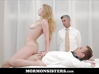 Virgin Mormon Sister Sex With Tied Up Guy By President Oaks