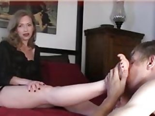 Mommy's Boy Has A Foot Fetish