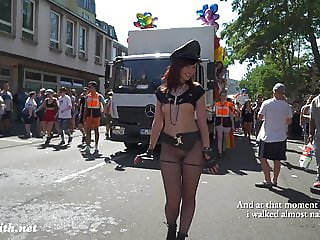 Sexy Jeny Smith at Christopher Street Day parade at Cologne