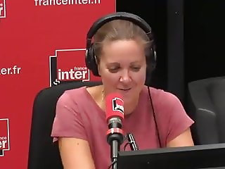 Constance naked boobs radio France inter