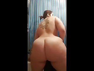 white huge big butt bbw