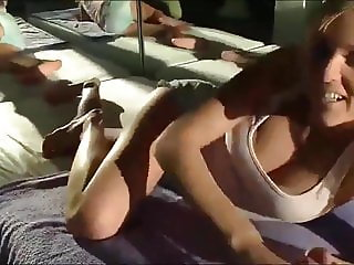Horny Daughter Gets anal Fucked by Her Step Dad